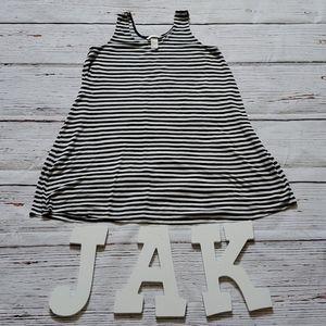 H&M BLACK & WHITE TANK SWING DRESS 👗